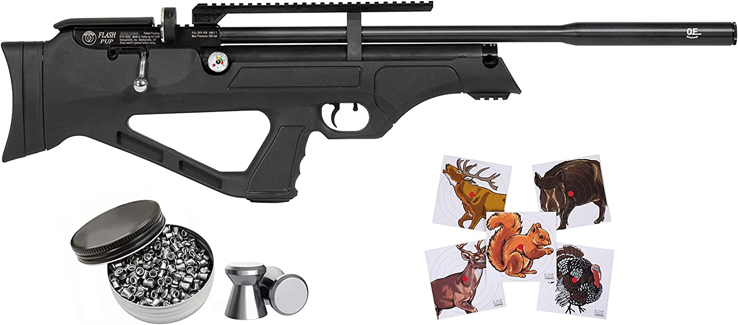 Hatsan FlashPup Selling rankings New QE Air Rifle with Pack of 100x Translated P and Pellets