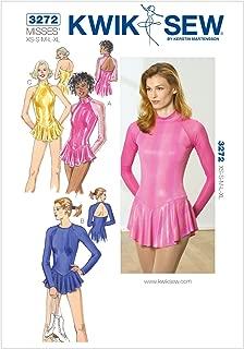 Kwik Sew K3272 Leotards Sewing Pattern, Size XS-S-M-L-XL
