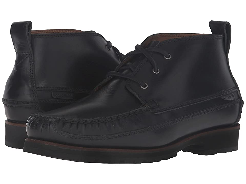 Cole Haan Connery Moctoe Chukka (Black) Men