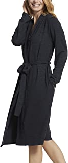 Yummie Women's Slub Knit Midi Lounge Robe