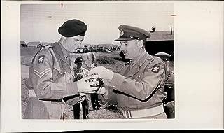 Vintage photo of Major-General Hugh Borradaile