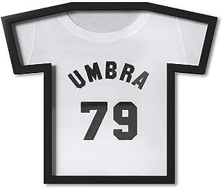 Umbra T-Frame Trikot Rahmen - Cadre Photo pour Collectionneurs 54 x 49.5 cm, Plastique/Noir