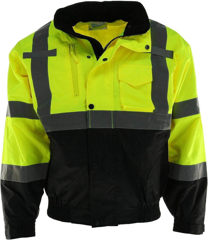 Tuff Grip Men's Fluorescent Water Sale Jacket Excellent Resistant