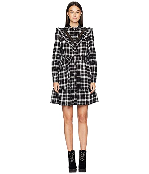 Kate Spade New York Broome Street Rustic Plaid Flannel Dress