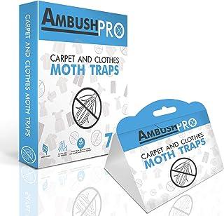 comprar comparacion Ambush Pro - Trampas para polillas Trampas de feromonas Adhesivas sin toxinas Que atraen y Matan polillas de alfombras y p...