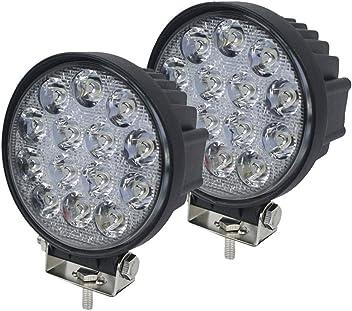 Voiture jare LED suppl/émentaire phares de travail /étanche IP67/42/W Lot de 2