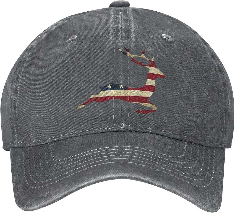 Dog Animal American Flag Hat Fashion Cool Baseball Caps Trucker Cap Dad Hat Running Hats Men Women Teenager