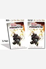 Inferno City Firehouse w/ Explosion Poster (8.5 x 12) Perfect Paperback