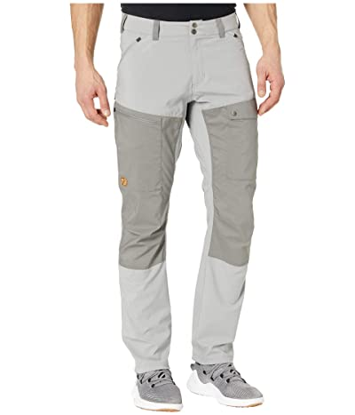 Fjallraven Abisko Midsummer Trousers (Shark Grey/Super Grey) Men