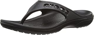 Crocs Womens 11999-001 Baya Flip Flop Black Size: 12 Women/10 Men