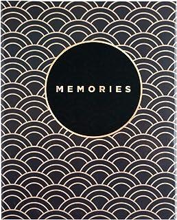 Erik - Album Photo Grand Format Noir & Doré - 200 pochettes - 13 x 20 cm