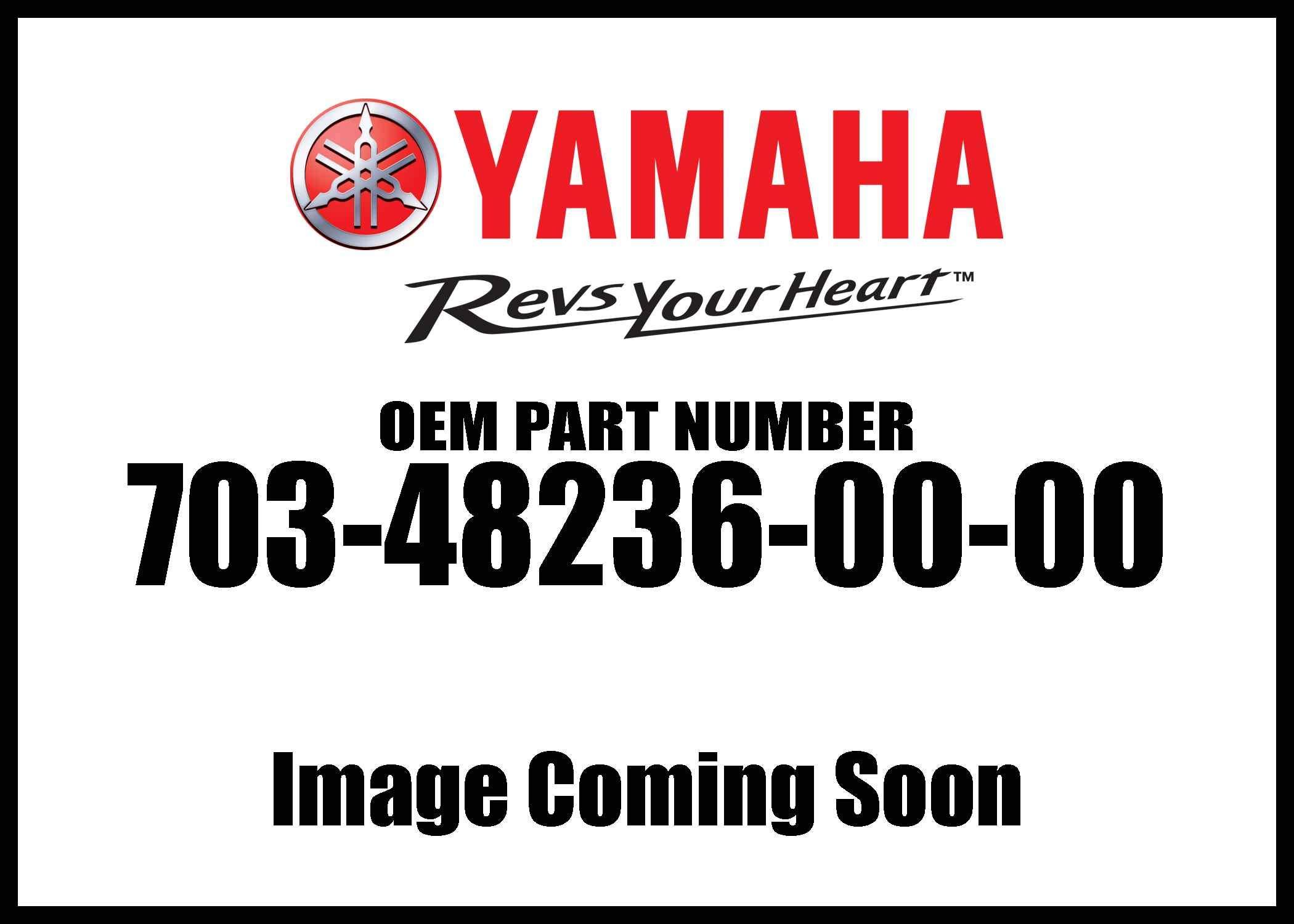 Yamaha Genuine Motors New Bushing Part # 703-48236-00