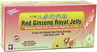 Prince of Peace Red Ginseng Royal Jelly, 30 Bottles, 0.34 fl. oz. Each – Energy Boosting Supplement – Ginseng Shots to Go ...