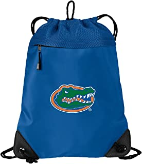 Broad Bay Official University of Florida Drawstring Backpack Florida Gators Cinch Bag - Cool MESH & Microfiber