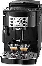 De'longhi Magnifica S - Cafetera Superautomática con 15 Bares de Presión, Cafetera para Espresso y Cappuccino, 13 Programas Ajustables, Sistema de Auto-limpieza, ECAM 22.110.B, Negra