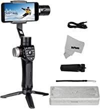 Freevision Premium Gimbal Stabilizer for Smartphone iPhone 11 X XR Xs Max 8 Vlog Youtuber Video Record Photo with Pan Axis 360° Unlimited Panorama Motion Time Lapse Object Tracking VILTA M Pro 3 Axis