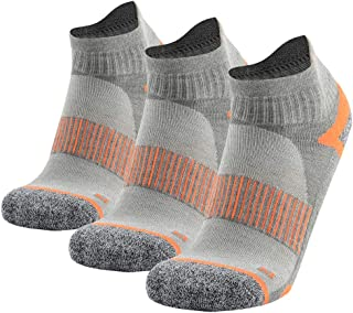 Hiking Socks for Men and Women, Athletic Cushion Ankle Quarter Socks 1,3 Pairs