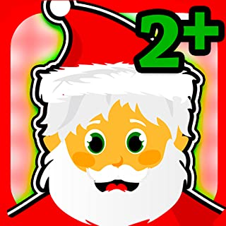 Christmas Games for little kids and toddlers - educational puzzles! Help Santa rescue the presents!