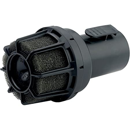 CRAFTSMAN CMXZVBE38660 2-1/2 in. Muffler Diffuser Wet/Dry Vac Attachment for Shop Vacuums, Black