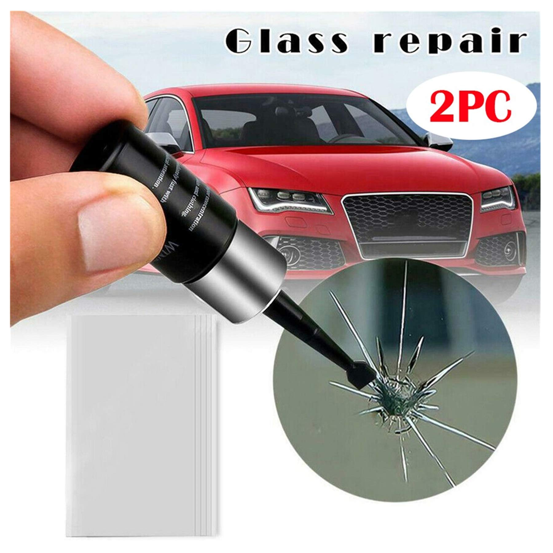 Wiper Blade Damage Tree Sap Water Damage//Suitable for Any Type of Glass Glass Polish GP23015 DIY Car Glass and Windshield Scratch Removal kit//xNet System//Removes: Scratches