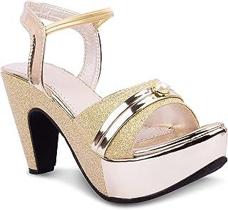 Denill Women and Girls Fashion Sandal (Block Heels)