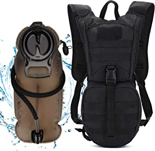 ANTARCTICA Tactical Hydration Pack Backpack with 3L Water Bladder, Lightweight Military MOLLE Daypack for Biking Marathon Hiking Climbing Running Hunting Cycling