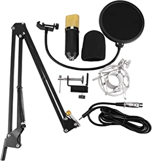 Live Microphone, Phone Live Microphone Capacitive Microphone, Microphone Set Microphone for Studio Live