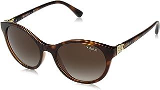 873bc815c6 Vogue 0vo5135sb 238613 52 Gafas de sol, Top Dark Havana/Light Brown, Mujer