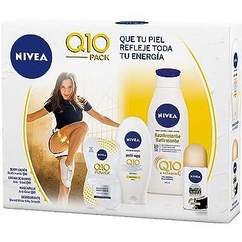 NIVEA MEN Sensitive, neceser con set de baño, caja de regalo con after shave, desodorante y gel de ducha, pack para hombre para una higiene y suavidad diaria: Amazon.es: Belleza