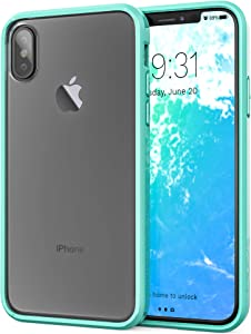iPhone Xs Case, iPhone X Case, Crave Slim Guard Protection Series Case for Apple iPhone X (5.8 Inch) - Mint Green