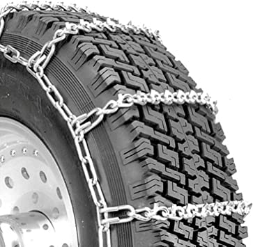 Security Chain Company QG2821 Quik Grip V-Bar Light Truck LRS Tire Traction Chain - Set of 2: image