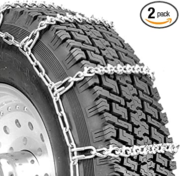 Security Chain Company QG2828 Quik Grip V-Bar Light Truck LRS Tire Traction Chain - Set of 2: image