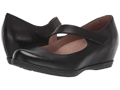 Dansko Lanie (Black Burnished Nubuck) Women