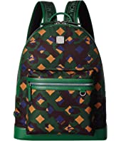 MCM - Dieter Munich Lion Camo Nylon Backpack 40