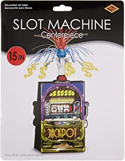 Slot Machine Centerpiece Party Accessory (1 count) (1/Pkg)