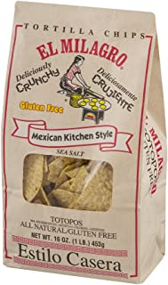 El Milagro, Tortilla Chips Salted, 16 Ounce