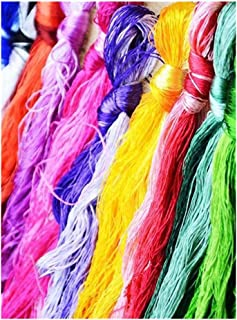 Lilith li From China DIY Recommended Commonly Used Manual Embroidery Woven Jewelry Silk Threads (14..50 color -2)