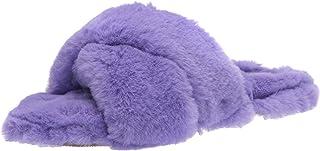 Nine West Women's Cozy Slipper, light purple533, 7