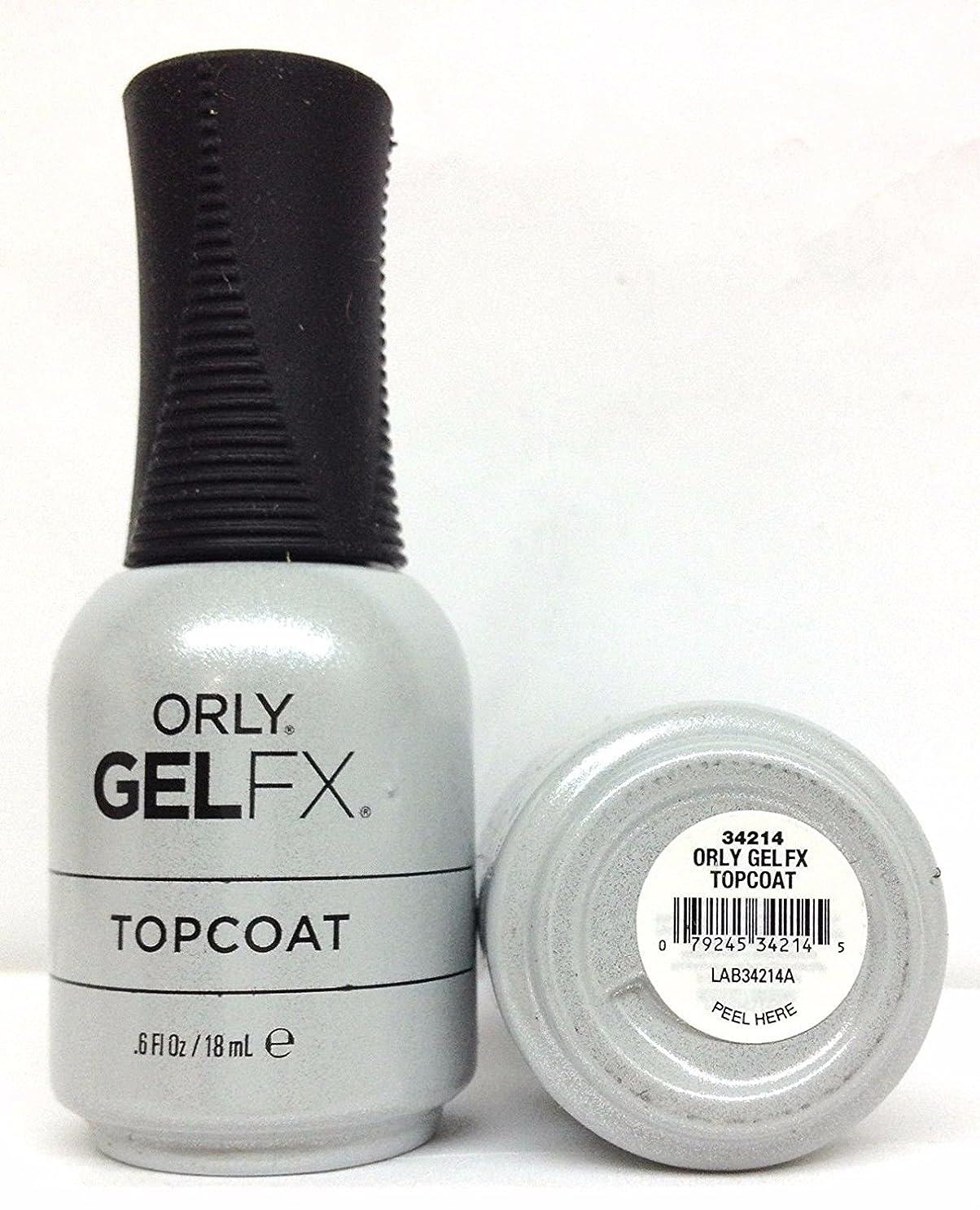 フォージ合唱団シニスOrly Gel FX - Top Coat - 0.6 oz / 18 mL