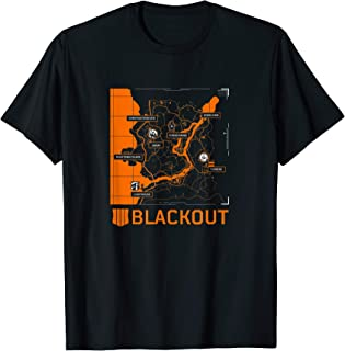 Black Ops 4 - Blackout Map Tee