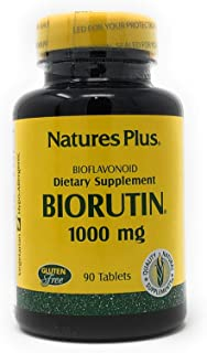 Nature's Plus BioRutin - 1000 mg - 90 Tablets