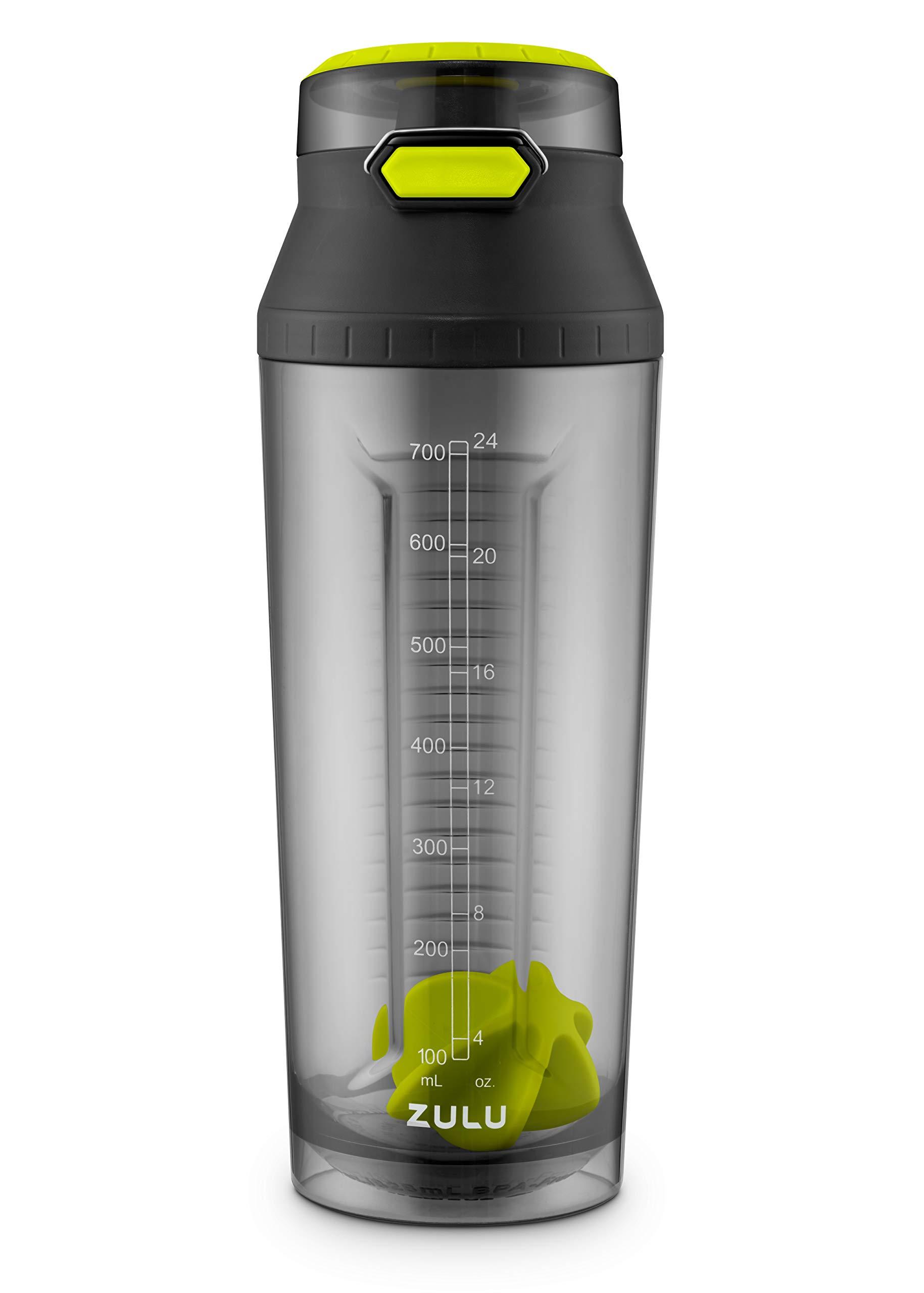 Zulu Tritan kids water bottle 16 oz Sport Leak proof BPA free dishwasher safe