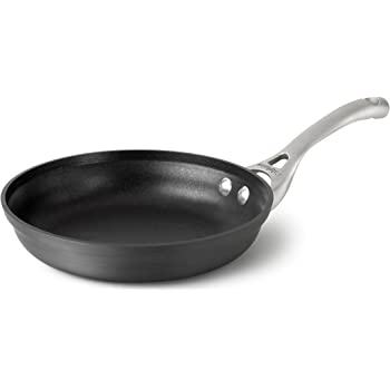 Calphalon Contemporary Hard-Anodized Aluminum Nonstick Cookware, Omelette Fry Pan, 8-Inch, Black