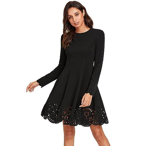 Black Knit Dresses Amazon