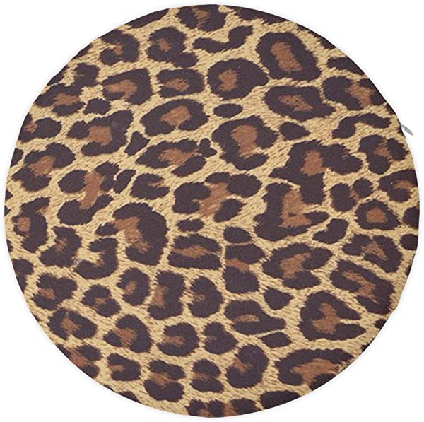 NiYoung Comfort Memory Foam Seat Cushion Designed For Back Hip And Tailbone Pain Fits Office Chair And Car Standard Cool Cheetah Leopard