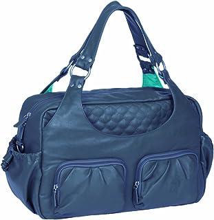 LÄSSIG Baby Wickeltasche babytasche Stylische Tasche Mama inkl. Wickelzubehör/Tender Multi Pocket Bag, steel
