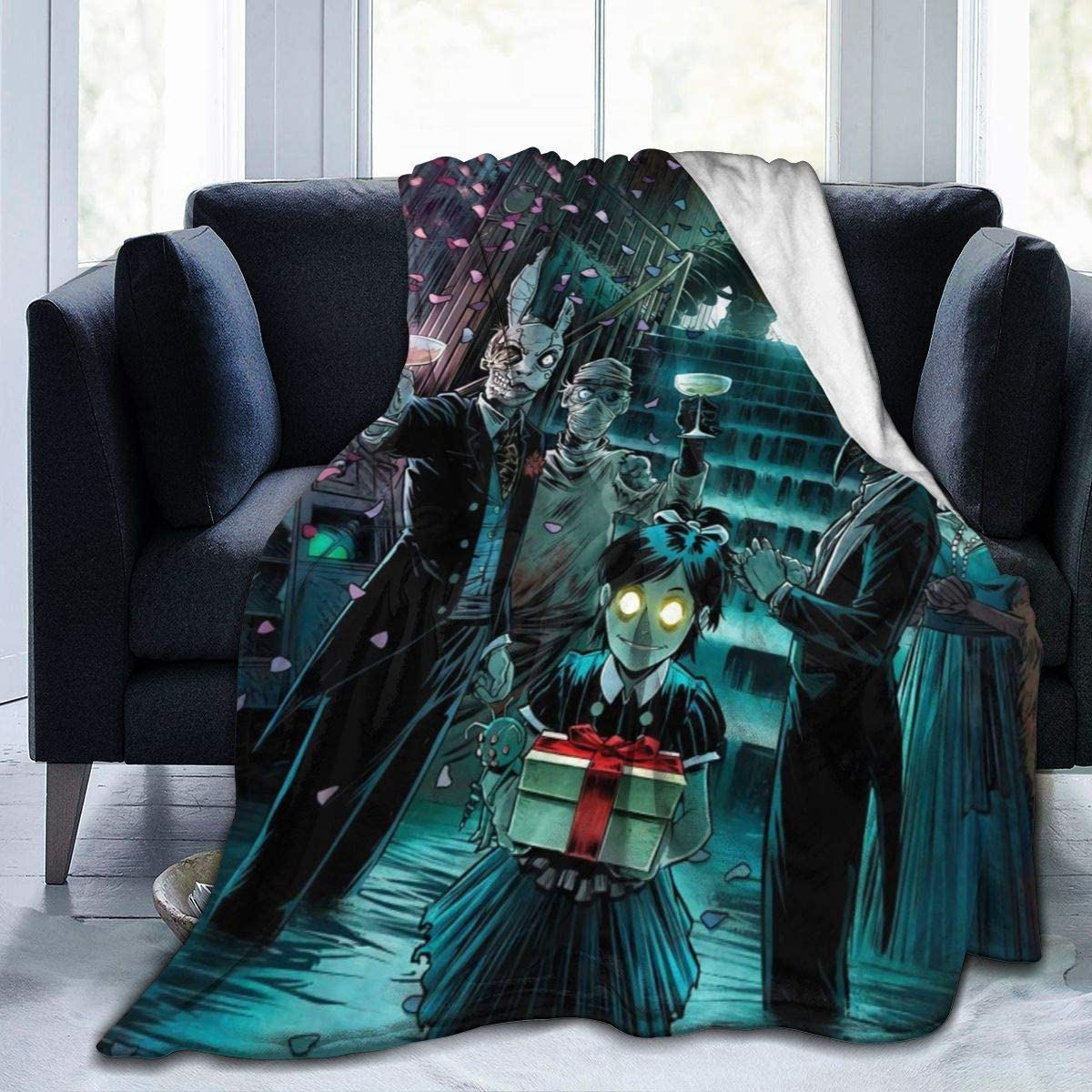 MillicentCob Bioshock Ultra-Soft Max 45% OFF Japan's largest assortment Micro Fleece Blanket W Soft and
