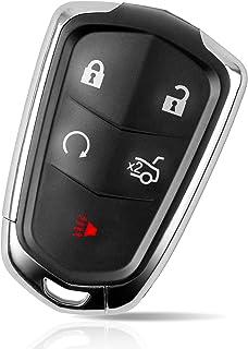Tyranway Compatible with Keyless Entry Remote Car Key Fob Cadillac SRX 2015-2017/XTS 2015-2017/ Escalade 2015-2017/ ATS 2014-2017/ CTS 2014-2017 FCC ID: HYQ2AB