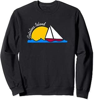 Catalina Island Sailing California Sailboat Gift Sweatshirt