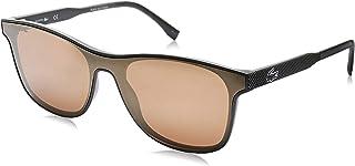 نظارة شمسية للرجال من لاكوست، لون بني، 52 ملم L907S